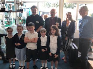 Bishop Mark - School Visit 1