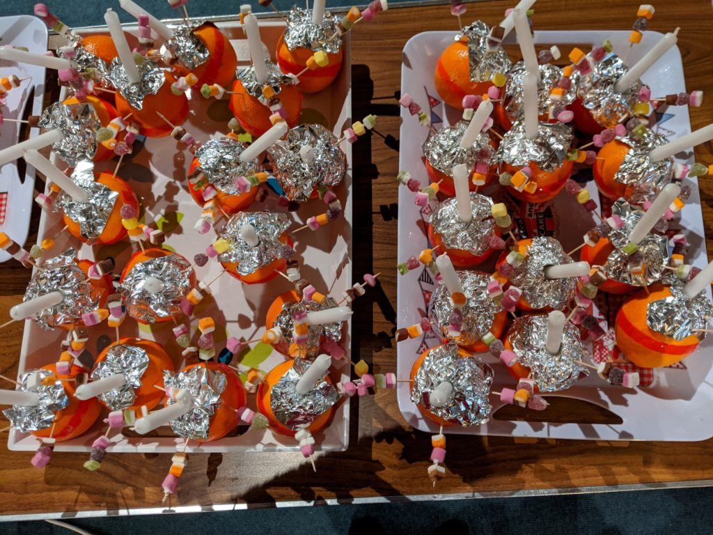 Trays of Christingles