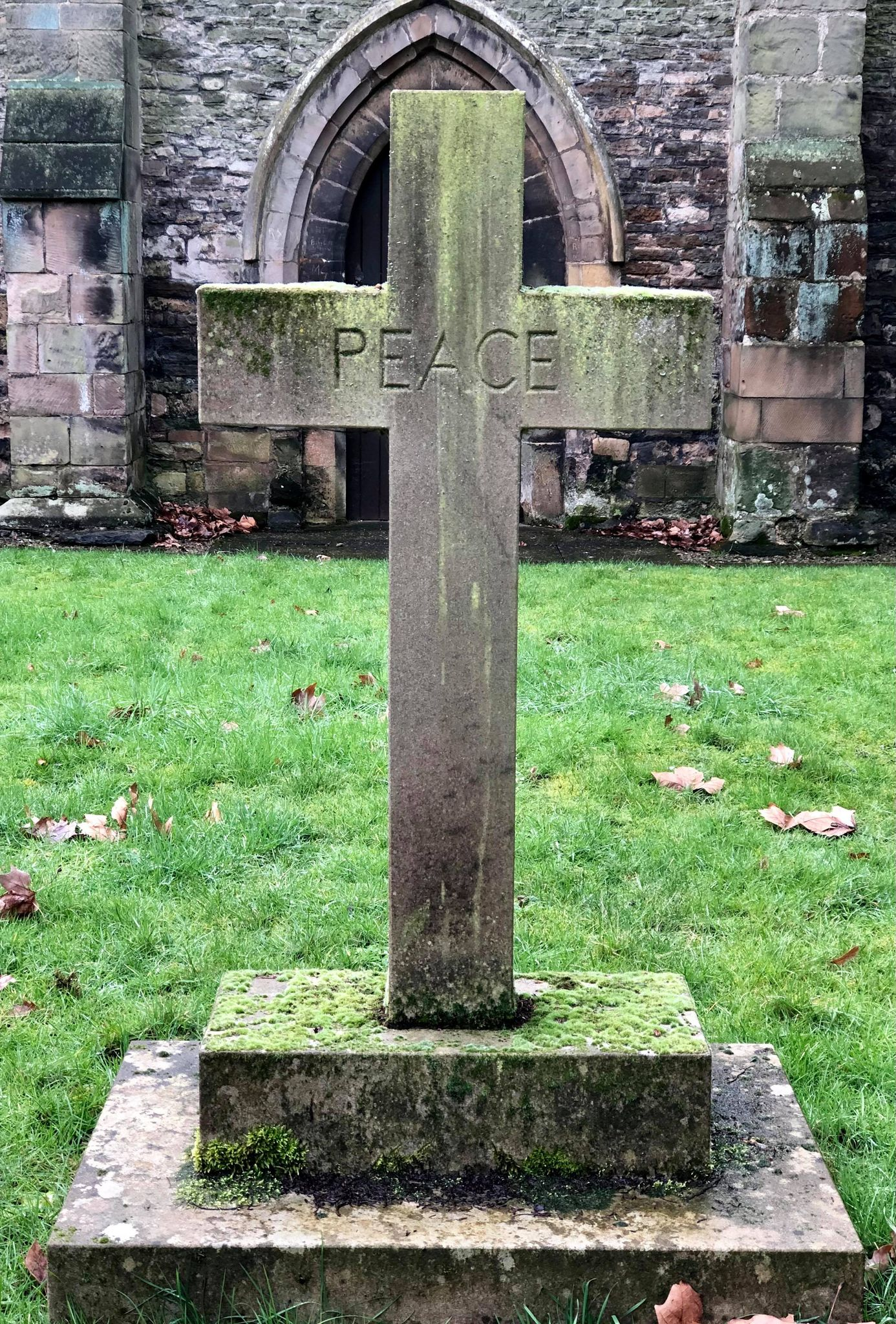 Cross in Church Grounds