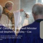 Area Dean Revd Stephen Hippisley Cox is being Installed as Canon at Southwell Minster