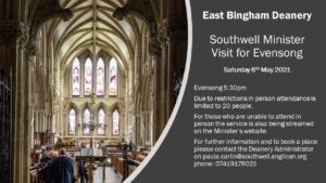 East Bingham Deanery Evensong at Southwell Minster