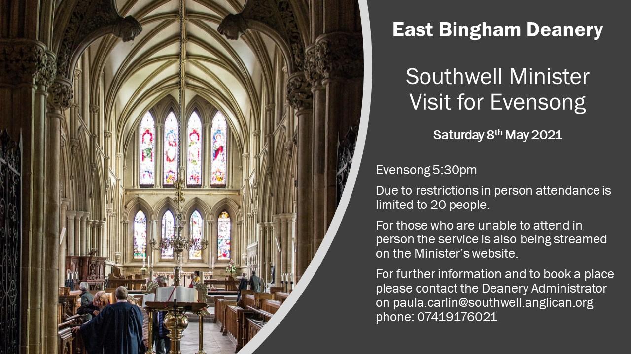 East Bingham Deanery Evensong at Southwell Minster