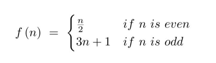 Equation for Trinity Sunday Sermon